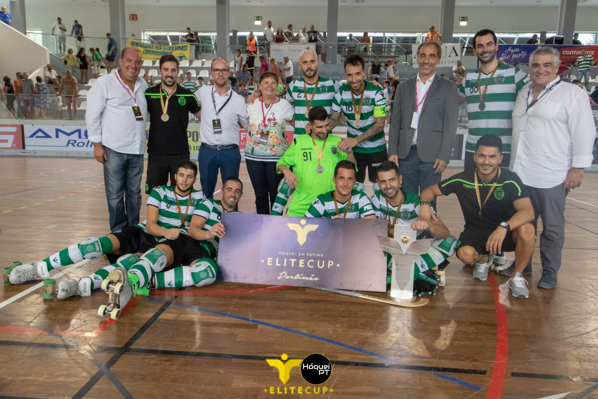 Sporting vence Elite Cup 2018